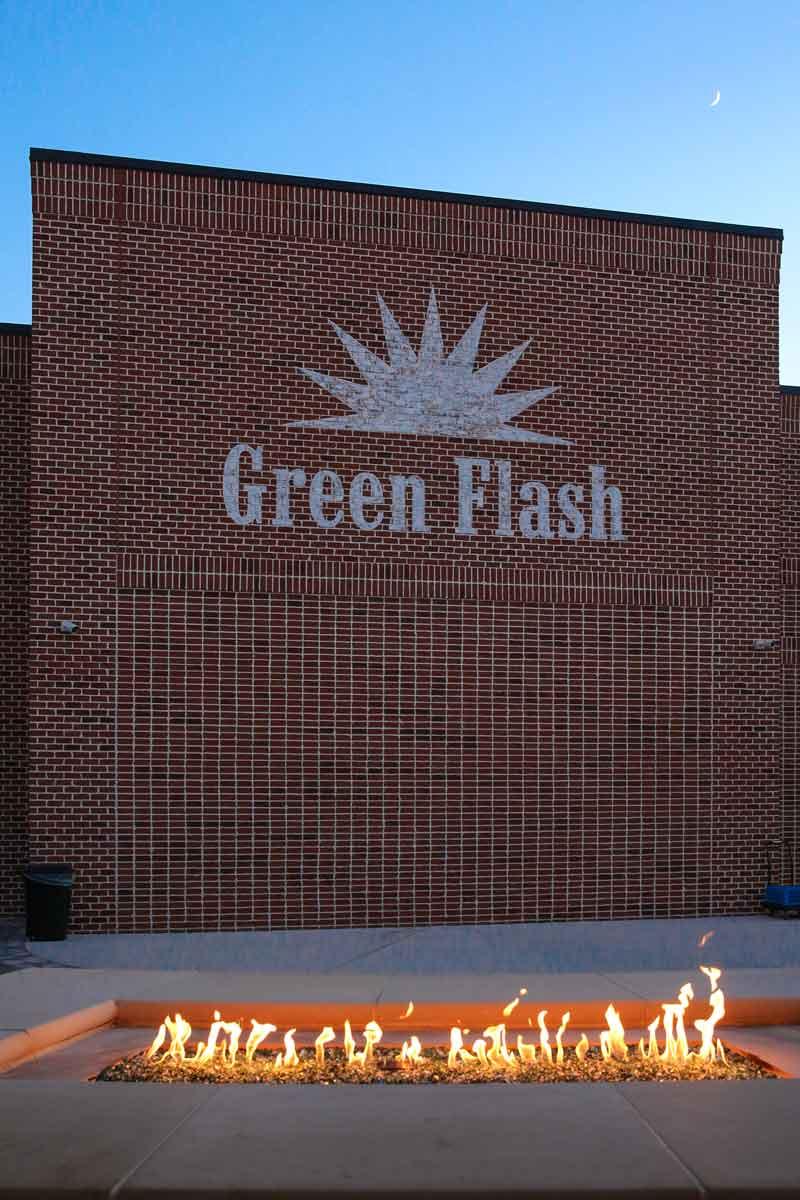 Green Flash Building Exterior