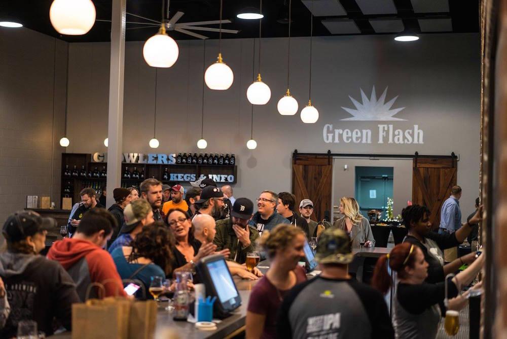 Green Flash Virginia Grand Opening