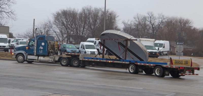 shipping a 17 foot tank head