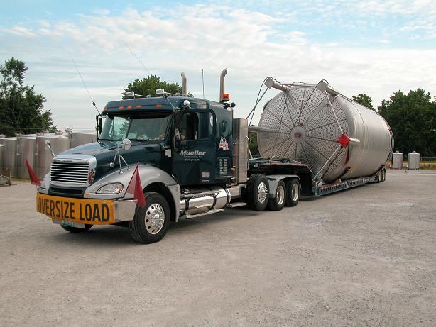 Mueller truck supply chain