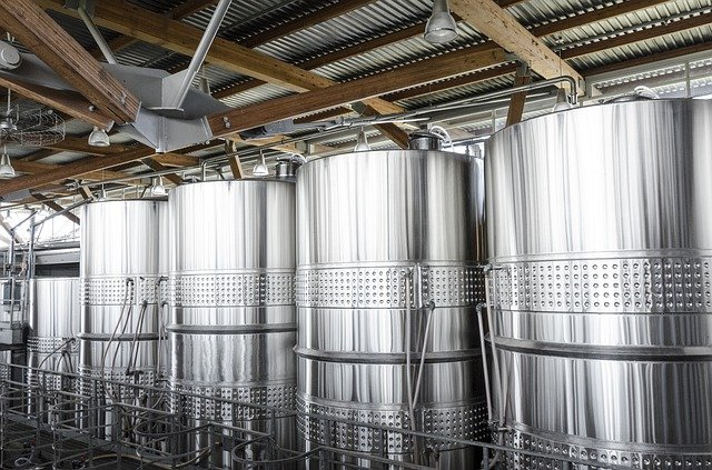 stainless steel wine tanks