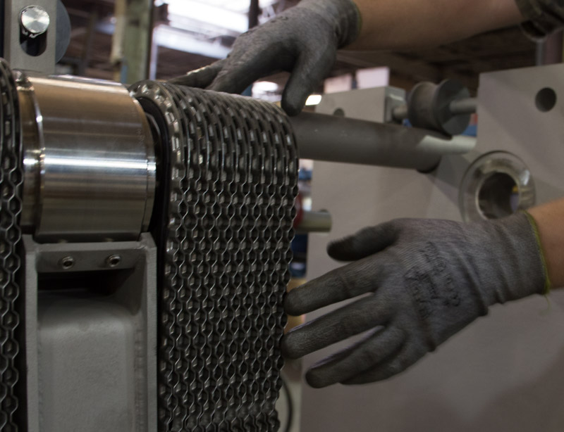 Plate Heat Exchanger Disassembly