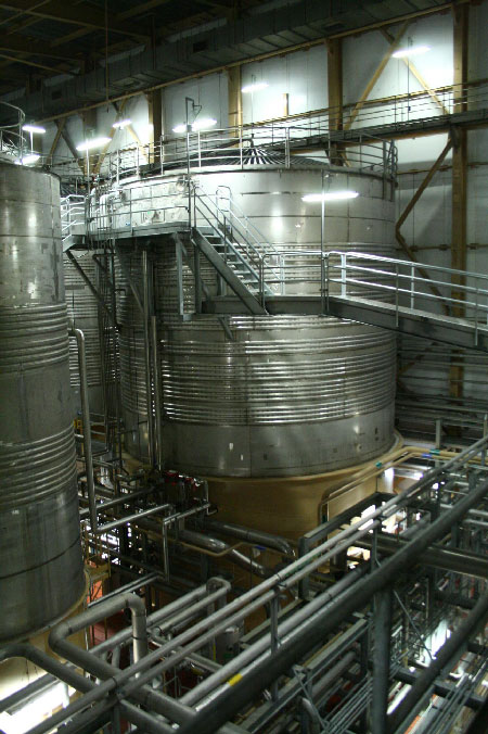 Extending a tank at Anheuser Busch