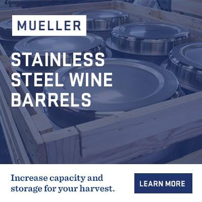 Mueller-Stainless-Steel-Wine-Barrels-Harvest